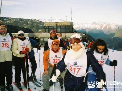 Esquí Baqueira - Competición; viajes de fin de año; fines semana